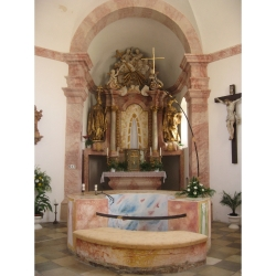 oltářní obraz sv. Anny s Marií