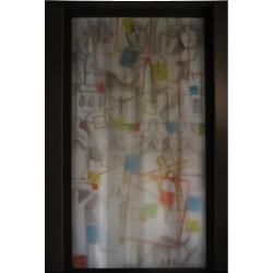 transparentní kresba,v 500cm