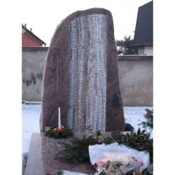 náhrobek K.Pilíka