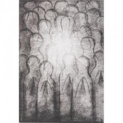 Světlo / 2008 / lept / 29,5 x 20,5 cm
