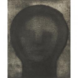 Opuštěná / 2009 / lept / 49 x 40 cm