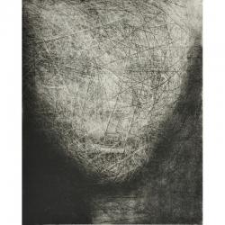 Úsměv / 2010 / lept / 49 x 39,5 cm