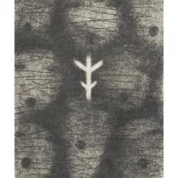 Malá kantáta / 2011 / lept / 18,5x15,5cm