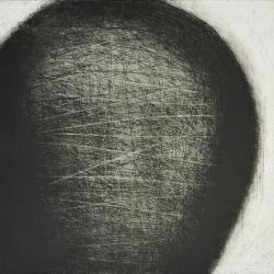 Otisk / 2011 / lept / 49,5 x 50 cm