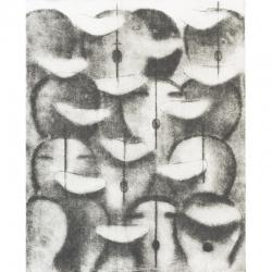 Kantáta / 2012 / lept / 55 x44 cm