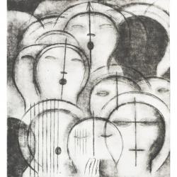 Madrigal / 2012 / lept / 48,5 x 44,5 cm