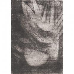 Anděl s nádobou / 2017 / lept / 26 x 18,5 cm