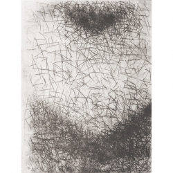Srdce / 2017 / lept / 42 x 32 cm