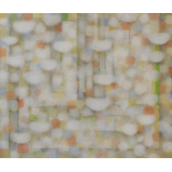 V kostele / 2015 / akryl, plátno / 145 x 170 cm