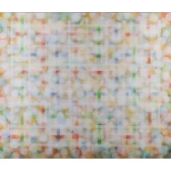 Nedostupná zahrada / 2015-16 / akryl, plátno / 145 x 170 cm