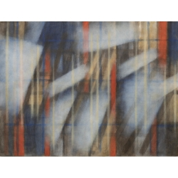 Chrámové světlo/2019/ akryl, plátno/ 130x150cm