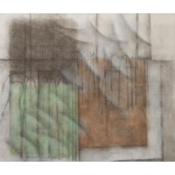 Krajina s křídly/2019/akryl, plátno/ 145x170cm