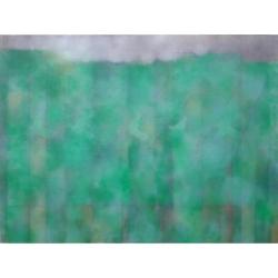 Okraj lesa/2020/akryl, plátno/135x180cm