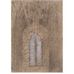 K poezii Z. Volfa / 2016 / uhel, akryl, papír / 34 x 24,5 cm